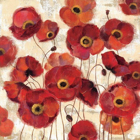 Bold Poppies by Silvia Vassileva art print
