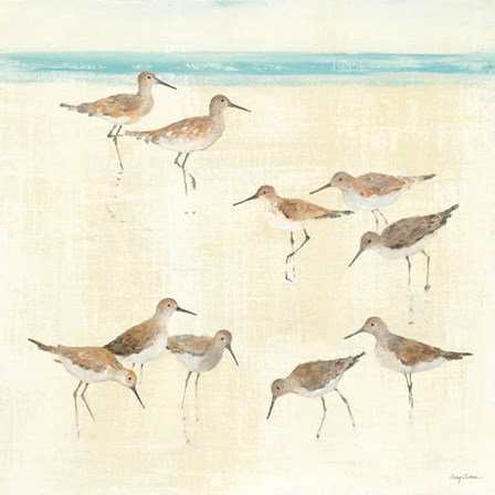 Sandpipers by Avery Tillmon art print