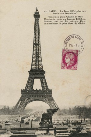 Paris 1900 by Wild Apple Portfolio art print