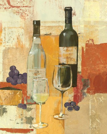 Contemporary Wine Tasting II by Avery Tillmon art print