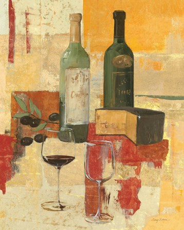 Contemporary Wine Tasting III by Avery Tillmon art print