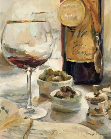 Award Winning Wine I by Marilyn Hageman art print