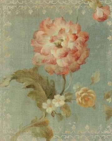 Poppy on Sage by Danhui Nai art print