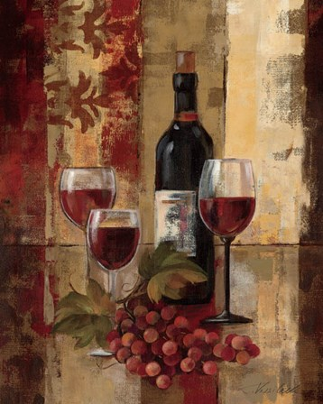 Graffiti and Wine II by Silvia Vassileva art print