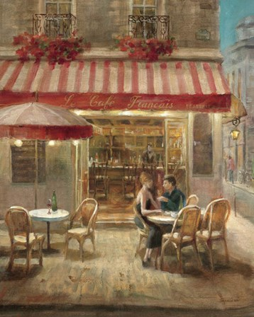 Paris Cafe II by Danhui Nai art print