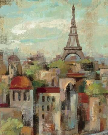 Spring in Paris II by Silvia Vassileva art print