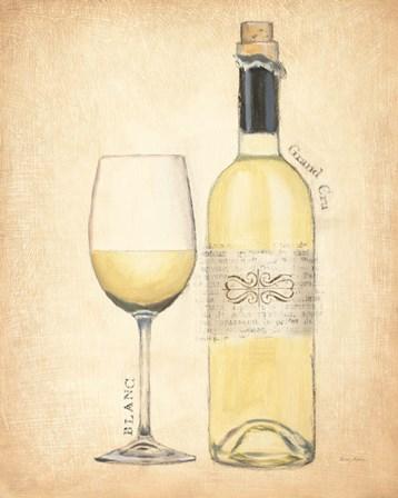 Grand Cru Blanc by Emily Adams art print