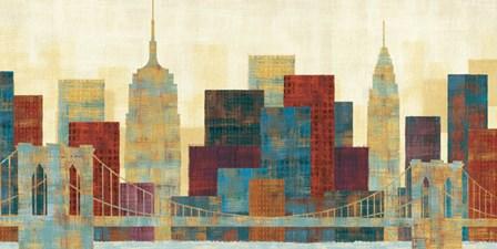 Majestic City by Michael Mullan art print
