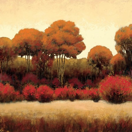 Autumn Forest II by James Wiens art print