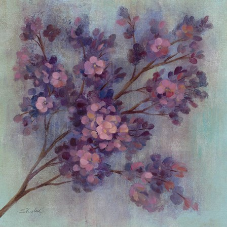 Twilight Cherry Blossoms I by Silvia Vassileva art print