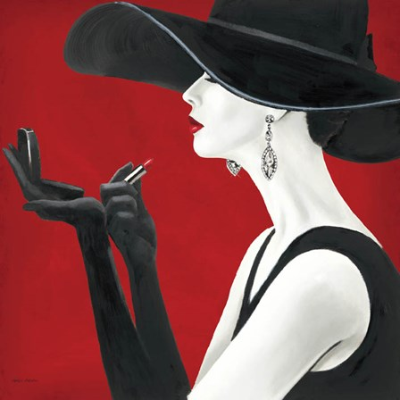 Haute Chapeau Rouge II by Marco Fabiano art print