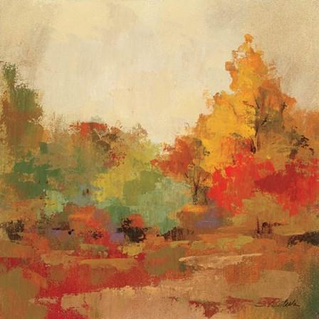 Fall Forest II by Silvia Vassileva art print