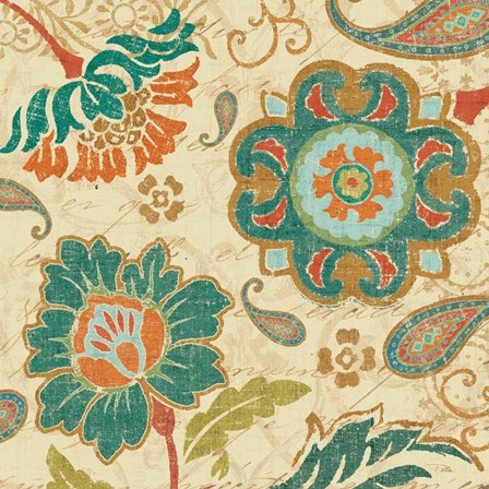 Fall Paisley III by Pela Studio art print