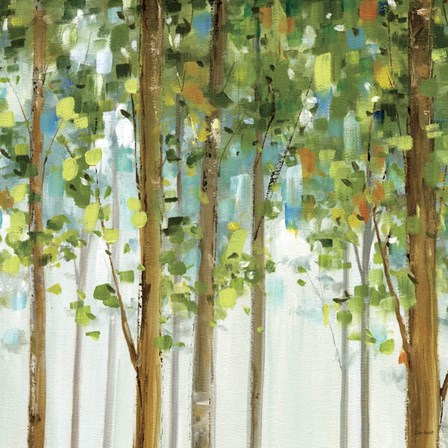 Forest Study II by Lisa Audit art print