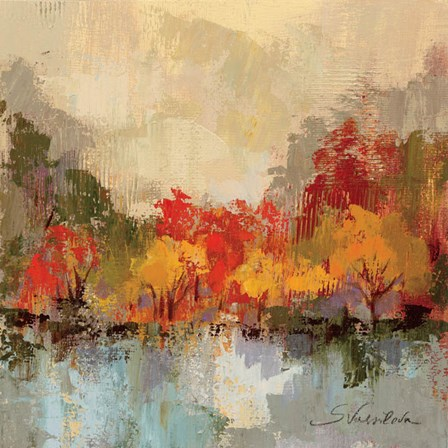 Fall Riverside II by Silvia Vassileva art print