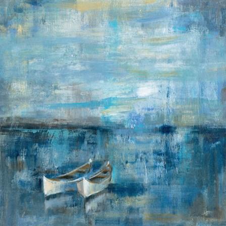Two Boats by Silvia Vassileva art print