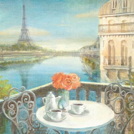 Morning on the Seine by Danhui Nai art print