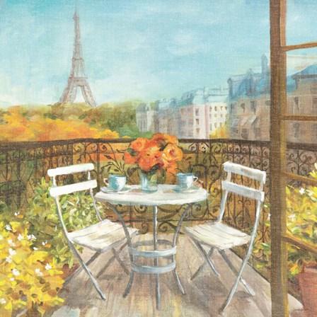 September in Paris by Danhui Nai art print