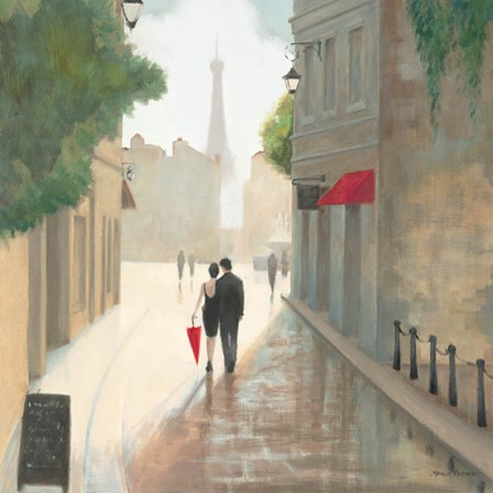Paris Romance I by Marco Fabiano art print