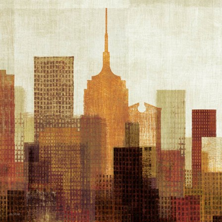 Summer in the City II by Mo Mullan art print