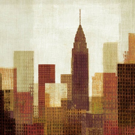 Summer in the City III by Mo Mullan art print