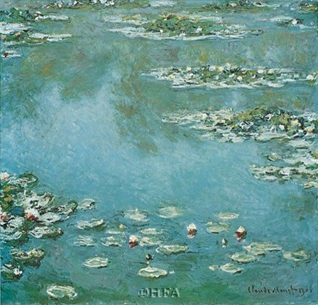 Waterlilies by Claude Monet art print