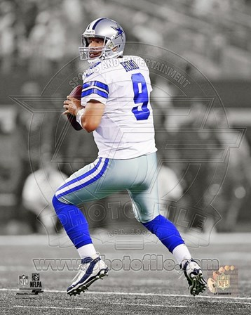 Tony Romo 2013 Spotlight Action art print