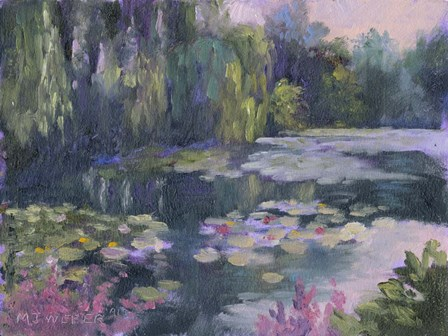 Monet's Garden II by Mary Jean Weber art print