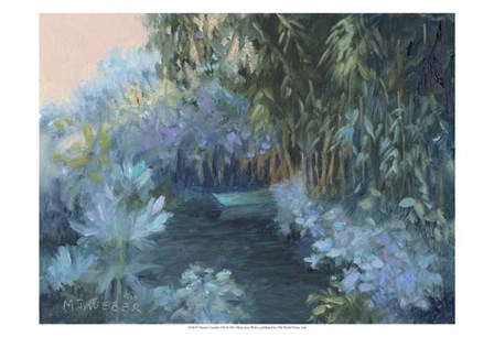 Monet's Garden VII by Mary Jean Weber art print