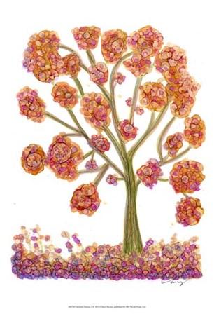 Autumn Fantasy I by Cheryl Baynes art print
