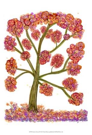 Autumn Fantasy II by Cheryl Baynes art print