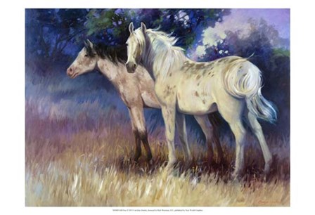 Still Free by Carolyne Hawley art print
