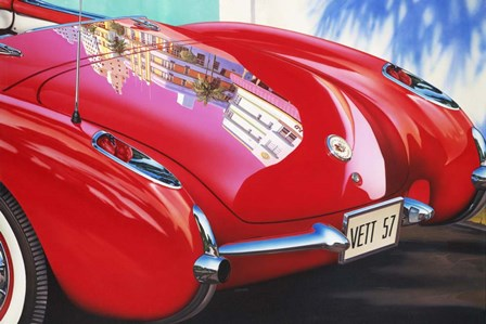 '57 Corvette by Graham Reynolds art print