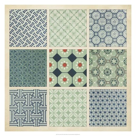 Pattern Patch II by Vision Studio art print