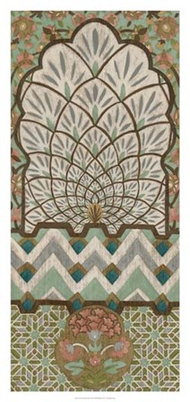 Peacock Tapestry II by Chariklia Zarris art print