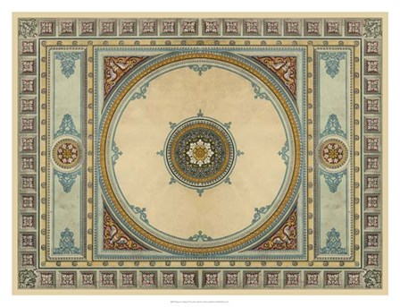 Design for a Ceiling by John Sloan art print