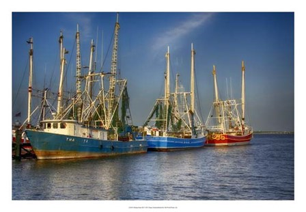 Shrimp Boats III by Danny Head art print
