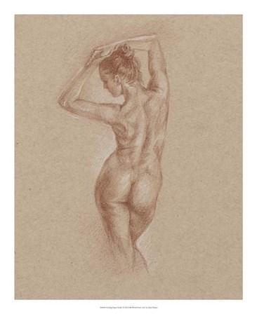 Standing Figure Study I by Ethan Harper art print