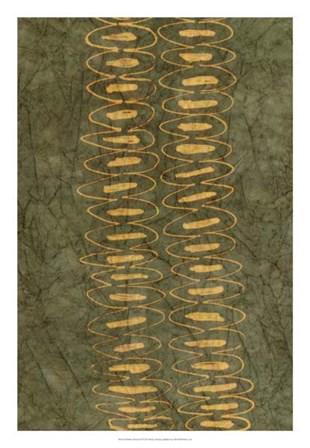 Primitive Patterns II by Renee Stramel art print