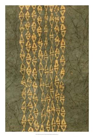Primitive Patterns III by Renee Stramel art print