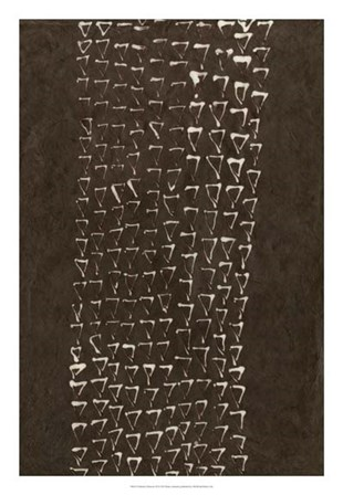 Primitive Patterns IX by Renee Stramel art print