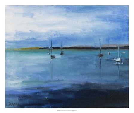 White Fish Bay by Curt Crain art print