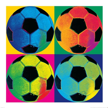 Ball Four-Soccer by Wild Apple Portfolio art print