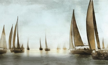 Golden Sails by Drako Fontaine art print