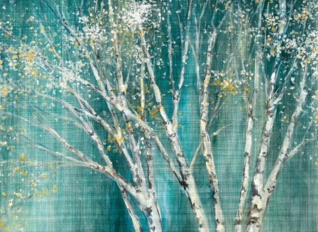 Blue Birch by Julia Purinton art print