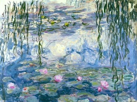 Waterlilies, 1916-19 by Claude Monet art print