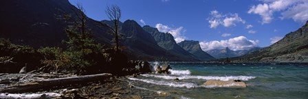 St. Mary Lake, US Glacier National Park, Montana by Panoramic Images art print
