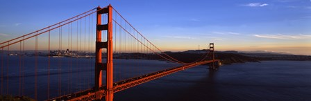 Golden Gate Bridge with Blue Sky, San Francisco, California, USA by Panoramic Images art print