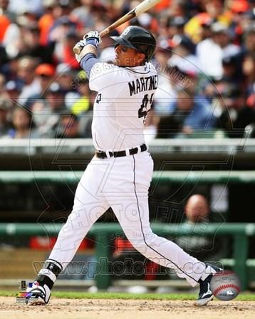 Victor Martinez 2014 batting art print