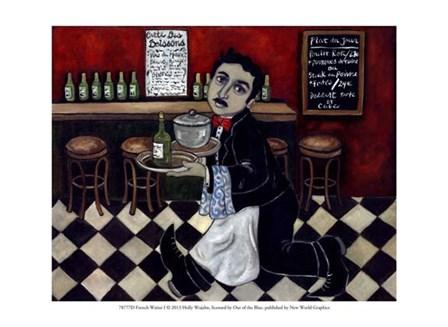 French Waiter I by Holly Wojahn art print